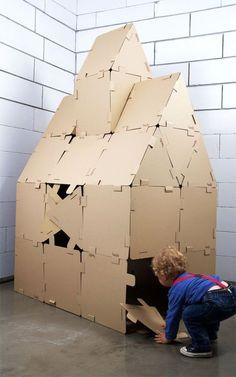 Hocki klockibyodRzeczy - cardboard building blocks