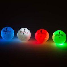 Light-Up luminous golf balls