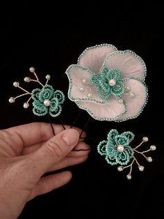 Flores cabello Pins blanco turquesa perlas plata set de 3 boda alfileres novia alfileres de CrystalOrchidJewelry en Etsy https://www.etsy.com/es/listing/247194885/flores-cabello-pins-blanco-turquesa