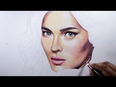 How to draw skin -- Basic tips with colored pencils. - YouTube