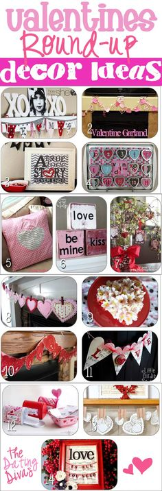 14 Fabulous Decor Ideas for V-day. #vday  #valentines #datingdivas