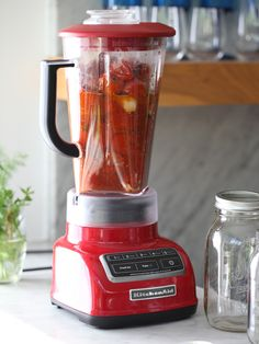 Simple Roasted Tomato Sauce #recipe on foodiecrush.com