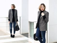 Get this look: http://lb.nu/look/8055320  More looks by Amy Ramírez: http://lb.nu/toks  Items in this look:  Zara Blazer, Zara Jeans, Zara Sweater, Marypaz Shoes   #chic #minimal #street #zara #masculineblazer