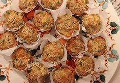 Receita de Mini Muffins de Aspargos e Brie   Rango do Dia