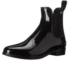 Sam Edelman Women & # s Tinsley Rain Boot - Women's Rain Boots Short Rain Boots, Shoes World, Black Rubber, Winter Boots, Black Boots, Amazing Women, Chelsea Boots, Things To Sell, Guide
