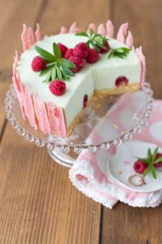 Backen. Leckere Kuchen Rezepte & Torten Rezept: Himbeer-Waldmeister-Törtchen