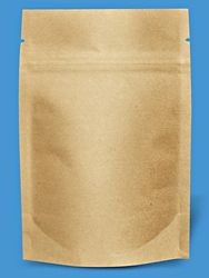 Kraft Stand-Up Barrier Pouches - 4 x 6 x Shipping Supplies, Shipping Boxes, Bubble Wrap, Stand Up, Packaging, Pouches, Green, Shipping Crates, Get Back Up