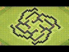 cool Clash of Clans  NEW Town Hall 7 Clan Wars/Trophy Base!