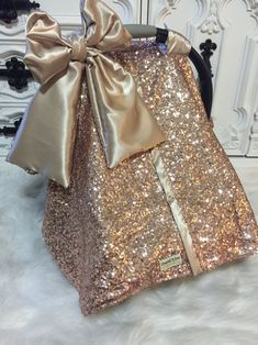Rose Gold / CAR SEAT COVER / car seat canopy / nursing cover / carseat cover / carseat canopy / ooak / sequin / infant car seat cover / gold – Online Pin Page Rose Gold Car, Baby Girl Car Seats, Baby Bling, Dream Baby, Car Covers, Baby Time, New Baby Products, Flu Season, Velcro Straps