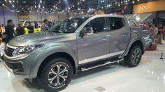 2016 Fiat Fullback Double Cab at the 2015 Dubai Motor Show Pickup Trucks, Fiat, South Africa, Product Launch, Vehicles, Shotguns, Dubai, Cars, Hunting Guns