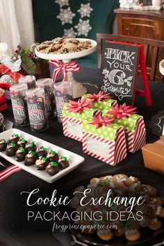 Best Hairstyles for Women: Cookie Exchange Packaging Ideas - Frog Prince Pape...