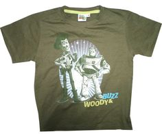 Toy Story 3 Brand Medium Olive Colour Printed Boys T Shirt www.clothing-deck.com