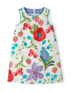 reSummer Printed Dress 33357 Day Dresses and Pinnies at Boden  ** I Love this pattern, cool, retro, I just love it***