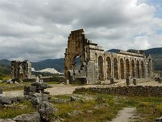 Archaeological Site of Volubilis, Morocco - The important Roman outpost of Volubilis was founded in the 3rd century BCE to become the capital of Mauritania. It contained many buildings, the remains of which have survived extensively to this day.