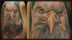 Bald Eagle Tattoo by Jason Morrow