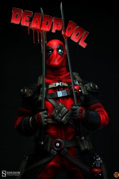 #Deadpool #Fan #Art. (OSR: Deadpool Marvel Sixth Scale Figure) By: Sideshow…