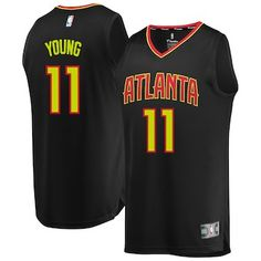 9cb80f706 Trae Young Atlanta Hawks Fanatics Branded Youth 2018 NBA Draft First Round  Pick Fast Break Replica