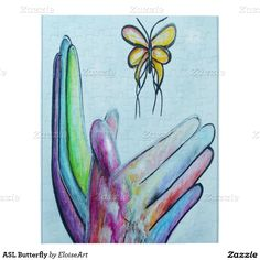 ASL Butterfly Puzzle