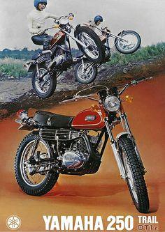 motobilia: 1972 Yamaha DT1 250 Trail by -Rickster G- #flickstackr Flickr: http://flic.kr/p/hXHDXh