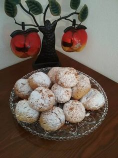 Greek Desserts, Greek Recipes, Greek Cookies, Biscotti Cookies, Food Gallery, Tasty, Yummy Food, Crazy Cakes, Confectionery