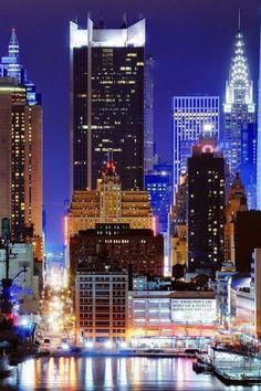 New York at Night, USA, #newyork #video #marketing