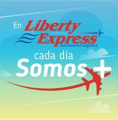 En Liberty Express cada días somo más. Líderes en transporte internacional de mercancías.