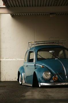 △ slammed VW Beetle