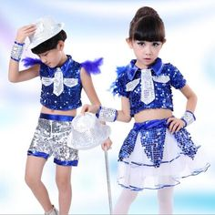 >> Click to Buy << New Sexy Child Kids Dance Wear Modern Dance Costume Sexy Jazz Dance Stage Performance Costume For Girls #Affiliate