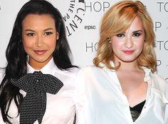 Demi Lovato's playing Naya Rivera's love interest on Glee!!