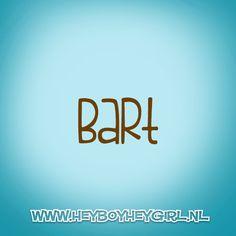 Bart (Voor meer inspiratie, en unieke geboortekaartjes kijk op www.heyboyheygirl.nl)