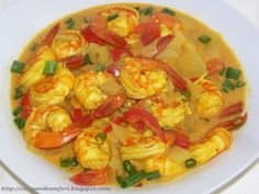 Shrimp Curry -Sri Lankan Style