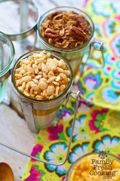"""Crispy Cereal Mango Parfaits"" from @Marla Meridith"