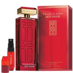 Red Door 100 ml y Vaporizador de Bolsillo Travalo - Elizabeth Arden | beauteprivee.es