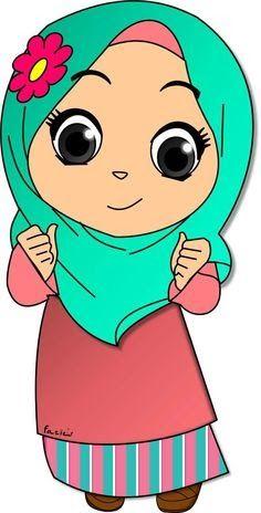 Cartoon Wallpaper, Wallpaper Iphone Disney, Cartoon Memes, Cartoon Pics, Cute Cartoon, Alhamdulillah, Little Girl Cartoon, Teacher Cartoon, Eid Stickers