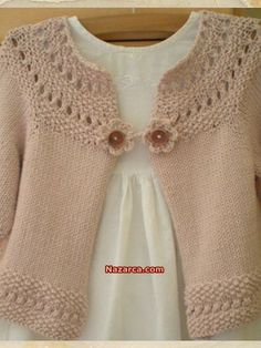 suéteres de tricô para as meninas Baby Knitting Patterns, Knitting For Kids, Baby Patterns, Crochet Patterns, Knitting Ideas, Crochet Ideas, Knit Or Crochet, Crochet For Kids, Crochet Girls