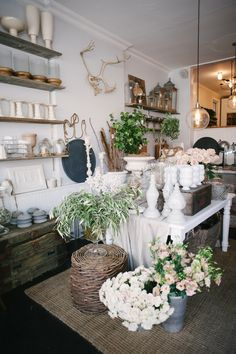 Sweet woodruff shop | Photography: Heidi Lau - heidilau.ca  Read More: http://www.stylemepretty.com/living/2014/09/03/behind-the-scenes-sweet-woodruff/