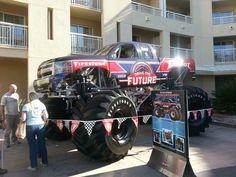 """Drive the Future"" Firestone Bigfoot"