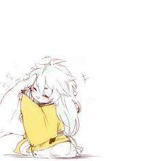 Image about text in Chibi Anime by Zo Kyoo on We Heart It Kawaii Chibi, Cute Chibi, Anime Chibi, Kawaii Anime, Manga Anime, Touken Ranbu, Anime Sword, Carla Tsukinami, Desu Desu