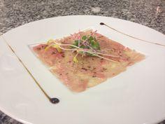 Carpaccio de Thon. #gastronomie #food #me