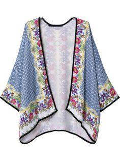 Kimono suelto tribal