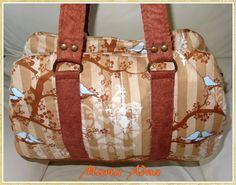 Ateliê Maria Adna: Bolsas, patchwork, bonecas, tecidos, acessórios e mais (Loja e Ateliê).: Bolsa em tecido Mathilda