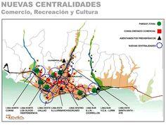 Nuevas centralidades de Lima por URVIA