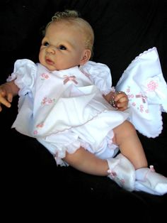 """Reborn Baby Doll """"NEW RELEASE"""" Carmen by Adrie Stoete now """"Anna ..."""