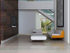Si deseas instaurar el estilo moderno en tu #sala, ten en cuenta que el mobiliario minimalista es lo más óptimo al momento de decorar. Formas variadas, suelen ser superficies #lisas, sin tanta #textura. Los materiales que dominan son: cristal, #maderas artificiales y el #acero.