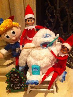 Elf dentist. #dentistry #Christmas