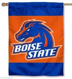 Boise State University House Flag