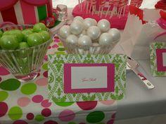 #Candybar #candystation #candybuffet #candydisplay #candy #babyshower #strawberryshortcake