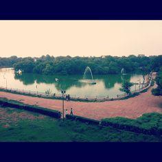 Lake side @ hauz khas village - Delhi