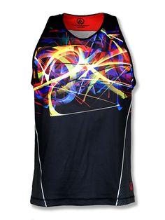 38b13cfff86227 INKnBURN Men s Energy Singlet Front Sport Wear
