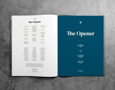 MagSpreads - Magazine Design and Editorial Inspiration: Outpost Magazine - Beirut